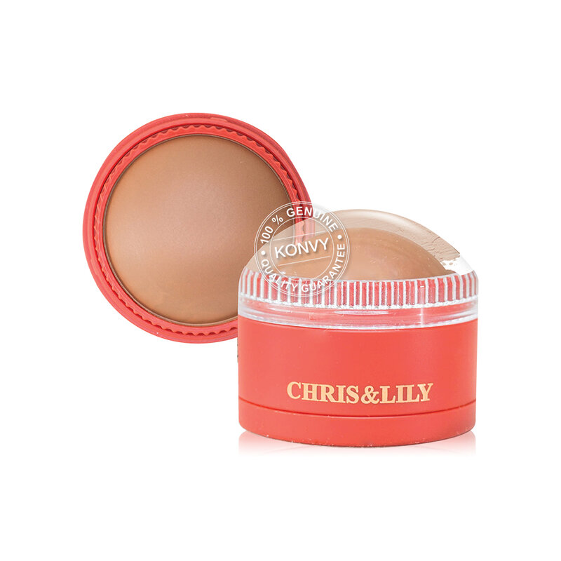 CHRIS&LILY Dome-Gle 11g #BR01 Natural Bronzer