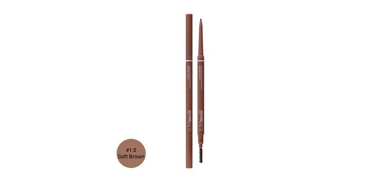 4U2 Slim Brow 1.5mm Waterproof Eyebrow Pencil 0.07g #1.5 Soft Brown