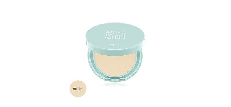 SASI Acne Sol Compact Powder 4.5g #01 Light