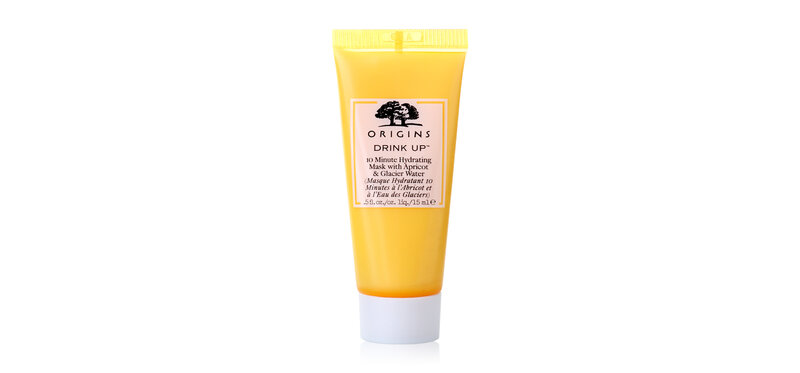 Origins Drink Up 10 Minute Hydrating Mask with Apricot & Glacier Water 15ml