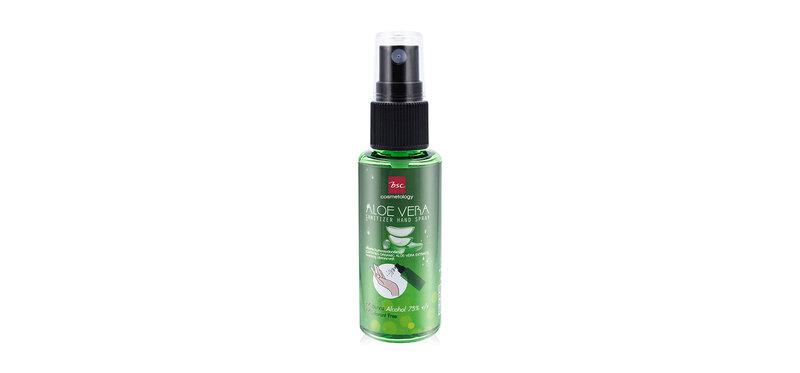 สเปรย์แอลกอฮอล์ BSC Aloe Vara Sanitizer Hand Spray 30ml