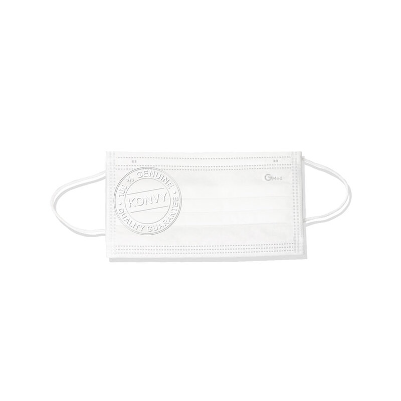 GMed Medical Earloop Face Mask #White [50pcs]