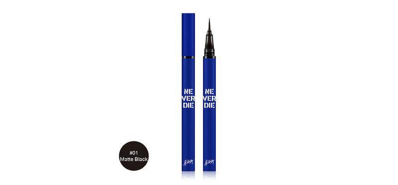 Bbia Never Die Brush Eyeliner 0.4g #01 Matte Black