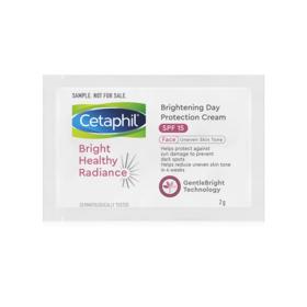 ฟรี! Cetaphil Brightening Day Protection Cream SPF15 2g 5pcs + Cetaphil Brightening Night Comfort Cream 2g 5pcs (1 ครั้ง / 1 ออเดอร์) เมื่อช้อปสินค้า Cetaphil อย่างน้อย 1 ชิ้น