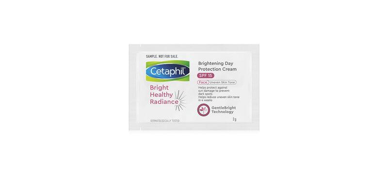 [Free Gift] Cetaphil Brightening Day Protection Cream SPF15 2g ( สินค้าหมดอายุ : 2021.08 )