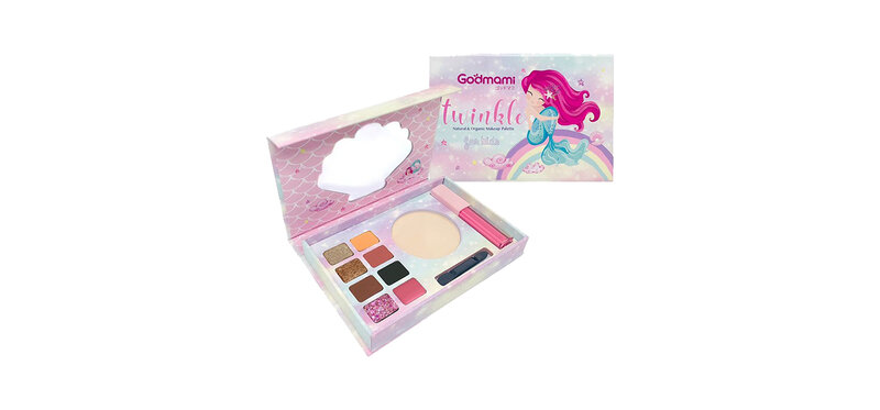 Godmami Twinkle Natural and Organic Make Up Palette for Kid Set B