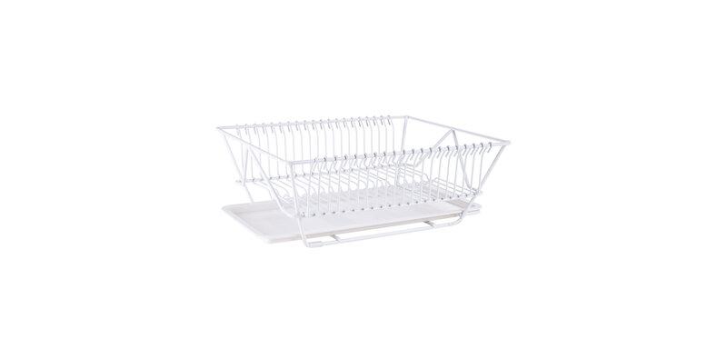 NaChuan Tableware Drain Rack #White [A0182]