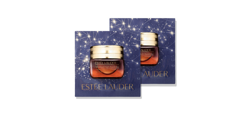 [แพ็คคู่] Estee Lauder Advanced Night Repair Eye Supercharged Complex [0.5mlx2pcs] [Blue]