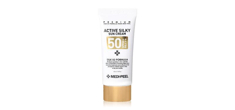 MEDI-PEEL Active Silky Sun Cream SPF50+/PA+++ 50ml
