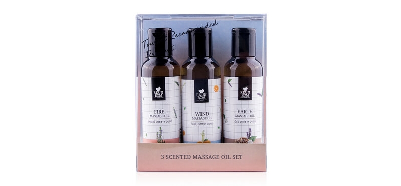 Reunrom All Massage Oil Set