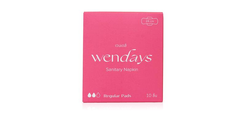 WENDAYS Regular Pads 24cm [10pcs]