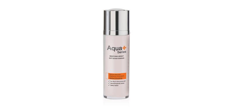 Aqua+ Series Smoothing-Bright Soft Scrub Essence 30ml